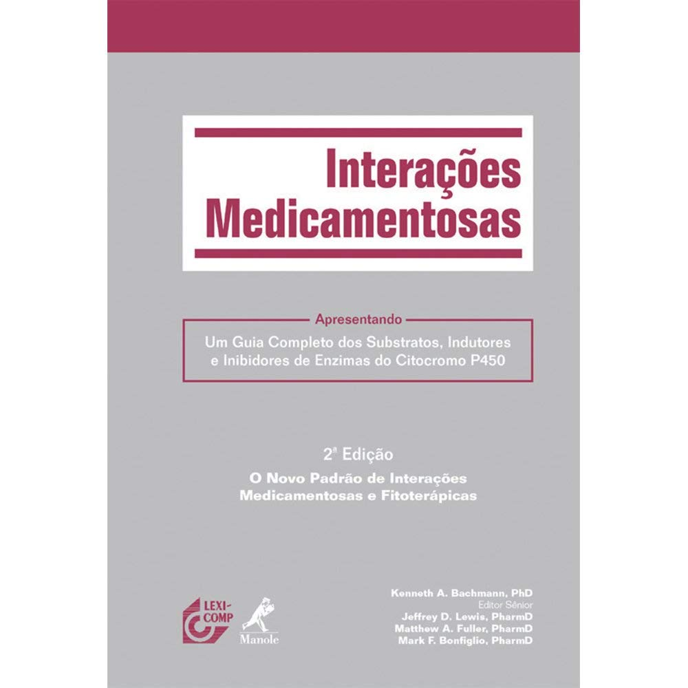 Interações Medicamentosas (Em Portuguese do Brasil ...