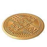 FengMicon Circle Shape Prosphora Bread Greek Orthodox Church Catholic Baptism Gifts