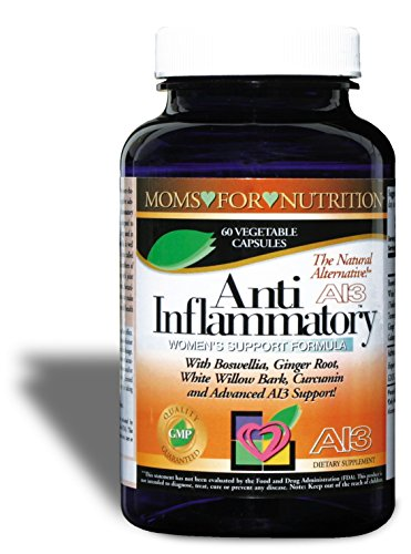 All-Natural Anti-Inflammatory Essential Synergy Womens Support Formula by Moms for Nutrition with a Proprietary Blend of 12 Herbs, Enzymes and Botanicals (Best Medication For Inflammation)