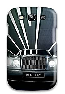Top Quality Case Cover For Galaxy S3 Case With Nice Bentley Arnage Wallpaper Appearance