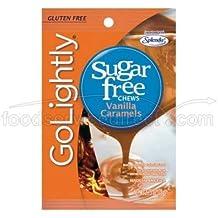 Go Lightly Sugar Free Chews Vanilla Caramels, 2.75 oz bag, Kosher