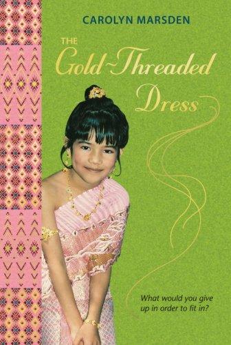 Gold Threaded Dress Carolyn Marsden