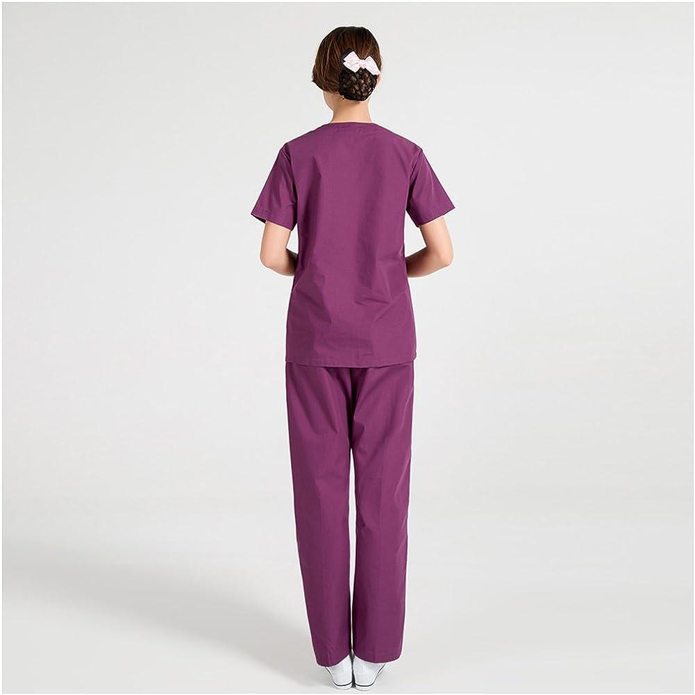 LSHEL-Divisa ospedaliera,estetica,Infermiere Casacca e Pantalone Personale Medico,operatore Sanitario,operatore Scolastico Personale alberchiero