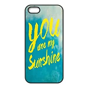Dacase iPhone 5,5S Case, you are my sunshine Custom iPhone 5,5S Cover
