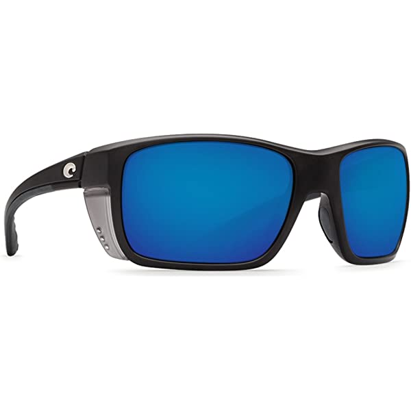 COSTA DEL MAR Rooster 580 POLARIZED Sunglasses White//Blue//Silver Mirror 580P NEW