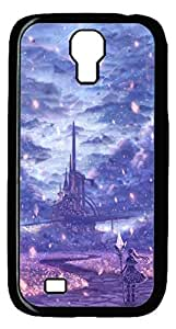 Brian114 Samsung Galaxy S4 Case, S4 Case - Cool Black Back Hard Case for Samsung Galaxy S4 I9500 Falling Diamonds Design Hard Snap-On Cover for Samsung Galaxy S4 I9500