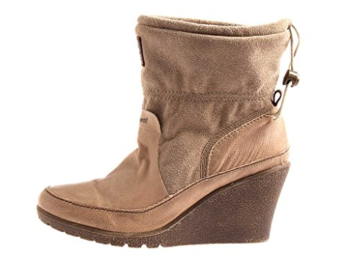 Le Coq Sportif Wedge Heel Boots Ankle Boots Leather Ankle Boots Leather Shoes 1711 VAWrlFqiPM