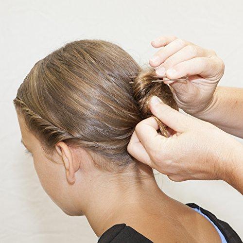 U-Shaped Crinkled Hair Pins - 2.5in (Set of 12, Stainless Steel)