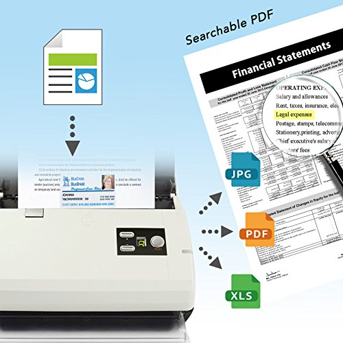 scan paper to searchable pdf