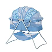 Dream On Me Karley Bassinet, Light Blue