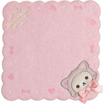 San-X Rilakkuma koilakkuma Cat Mini toalla una cinta Rosa
