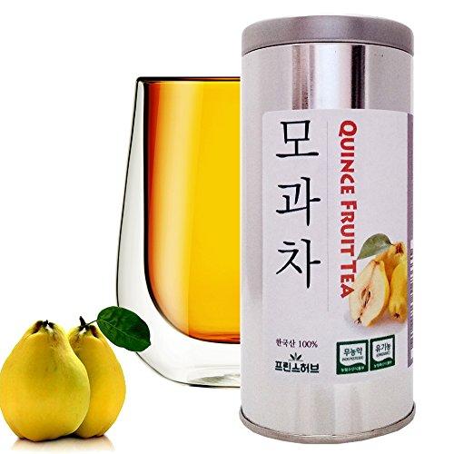 [Medicinal Korean Herb] Quince Fruit Tea (Muguaguoshi/모과 차) Dried Bulk Herbs in a Gift Tin Caddy 72g (2.5oz)