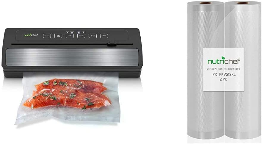 """NutriChef Upgraded Vacuum Sealer 