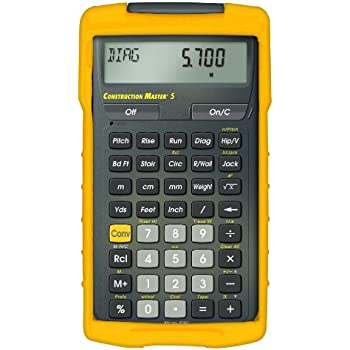 amazon com calculated industries 4050 construction master 5