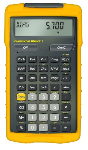 Calculated industries 4050 construction master 5 for Cost of new home construction calculator