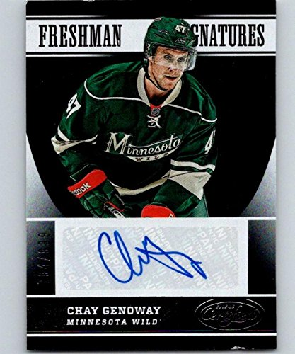 2012 Donruss Certified Football - 2012-13 Panini Certified #163 Chay Genoway AU RC 794/999 NHL 04452