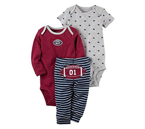 Carter's Baby Boys' 3 Piece Football Set Newborn]()