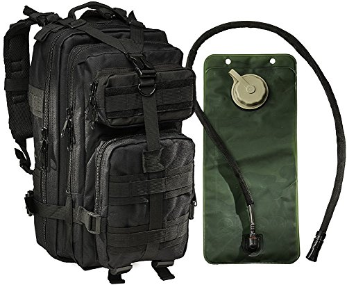 Small Tactical Military Army Backpack By Monkey Paks -Hydrat