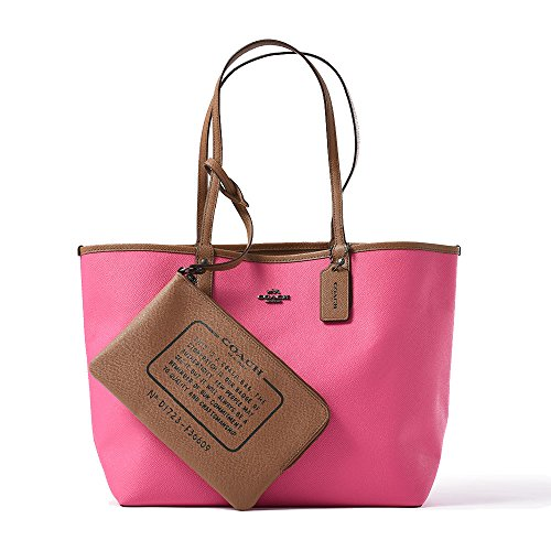 REVERSIBLE CITY TOTE IN COATED CANVAS by Coach
