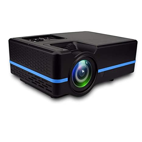 LHJCN Proyector HD, 1080P LCD Video proyector Full HD con 2000 ...