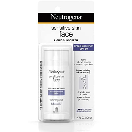 The Neutrogena Face Sunscreen travel product recommended by Adarsh Vijay Mudgil on Lifney.