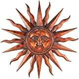 Regal Art and Gift Copper Patina Sun 40""