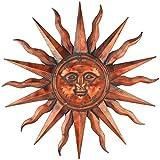 Regal Art &Gift Copper Patina Sun 40''