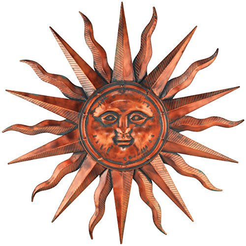 Regal Art &Gift Copper Patina Sun 40'