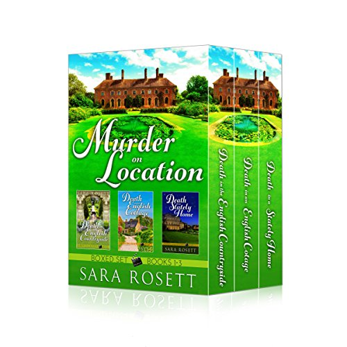 Beautiful homes. Puzzling mysteries. Diabolical murders!  Settle in with tea & crumpets and Murder On Location Books 1-3 by Sara Rosett