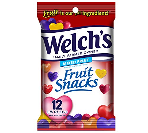 Welch's Fruit Snacks, Heart Shaped Mixed