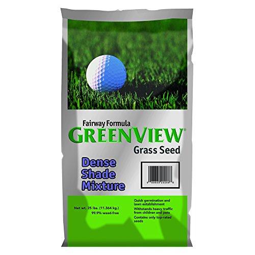 GreenView Fairway Formula Grass Seed Dense Shade Mixture, 25 lb Bag