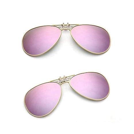1c01be8a49 KOMNY Las Gafas de Sol polarizadas con miopía con Clip Pueden Colgar Gafas  de Sol en