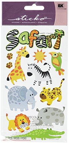 Sticko Safari Stickers - Animal Scrapbook