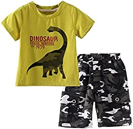 Baby Boy Short Sleeve Tee Shorts Set