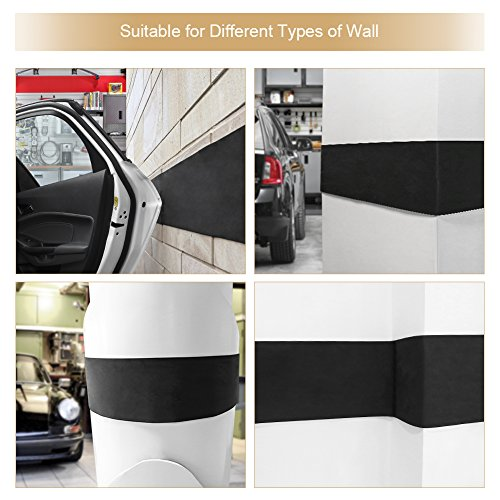 Ghb garage car door protector garage wall guard 1 8 thick for Garage piece auto