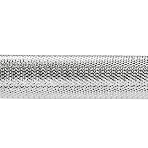 Sunny Threaded Solid Chrome Barbell Bar (60 Inch)