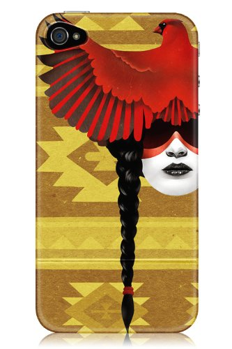 Sharp Shirter Cardinal Warrior iPhone 4 & 4S Case
