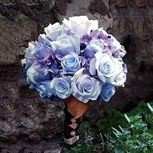 Efavormart 84 Artificial Buds Roses for DIY Wedding Bouquets Centerpieces Arrangements Party Home Decoration Supply - Lavender 4