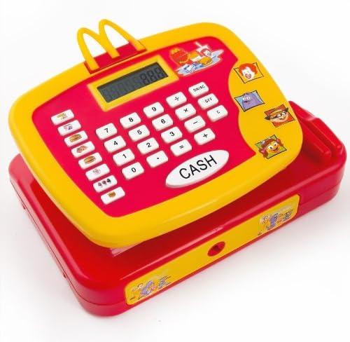 Caja registradora infantil McDonalds + Complementos: Amazon.es: Juguetes y juegos