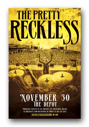 The Pretty Reckless Poster - 2017 Who You Selling For Tour