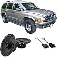 Fits Dodge Durango 1998-2001 Rear Door Factory Replacement Harmony HA-R65 Speakers New