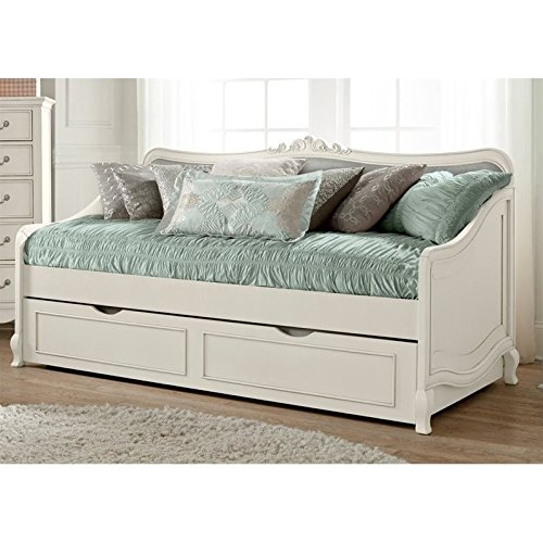 NE Kids Kensington Elizabeth Daybed with Trundle in Antique White