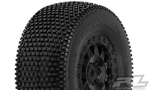 Blockade SC 2.2/3.0 M3 Mnt F11 Whl,Blk:SCTE 4x4(2) by Pro-line Racing (Proline Blockade Sc compare prices)