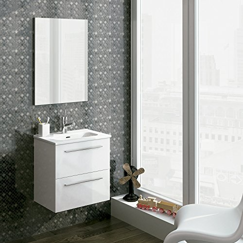 Royo Bathroom Vanity - Street Collection - White (20'') by Dax International Brokers Inc