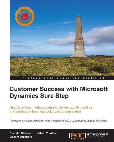 Customer Success with Microsoft Dynamics Sure Step Pdf