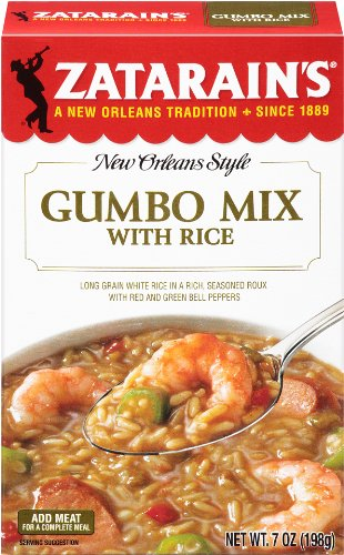 Zatarain's New Orleans Style Mixes Gumbo Mix, 7 oz