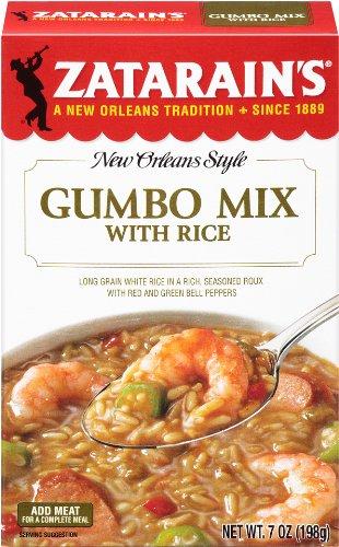 Mix Gumbo Zatarains - Zatarain's New Orleans Style Mixes Gumbo Mix, 7 oz