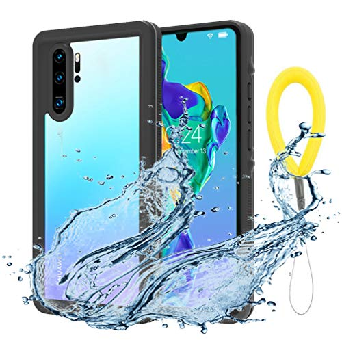 Anyos Compatible P30 Pro Case, Waterproof Case IP68 Certified Full Body Heavy Duty Shockproof Rugged Cover Built-in Screen Protector