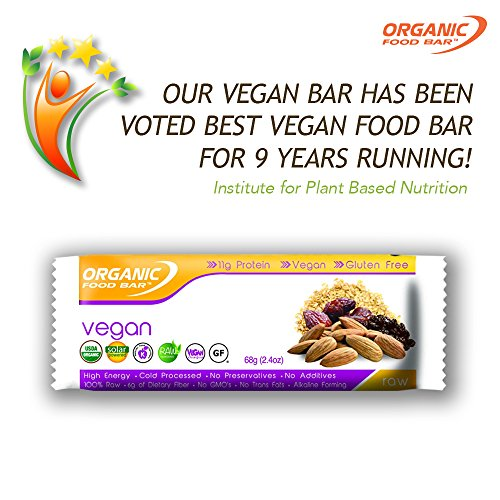 Organic food bar vegan bars certfied organic vegan for Organic food bar