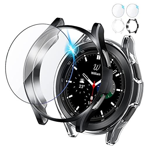 2 protectores y vidrios para samsung watch 4 classic 46mm